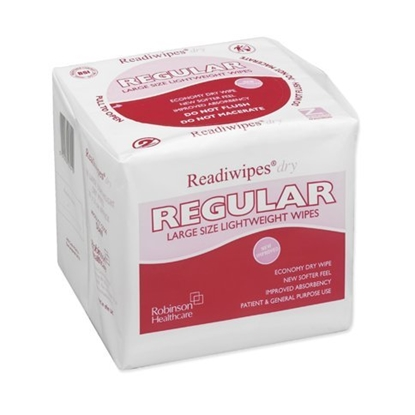 Picture of Robinsons Readiwipes Dry Regular Wipes- Large